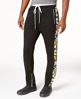 INFLATION Autumn Mens Sportswear Pants Stripe Side