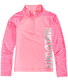 Ideology Quarter-Zip Dance & Cheer Active Top, Toddler Girls, Created for Macy's