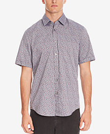 BOSS Men's Regular/Classic-Fit Patterned Cotton Shirt