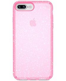 Speck Presidio Clear Glitter iPhone 8 Plus Case