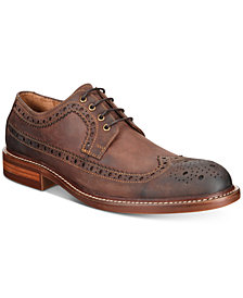 Kenneth Cole Reaction Men's Giles Dress Casual Wingtip Oxfords