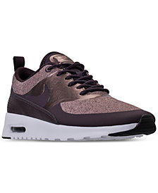 Nike Women's Air Max Thea Knit Casual Sneakers from Finish Line