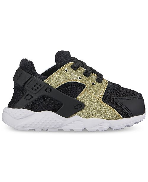 57fbb2f908034 ... Nike Toddler Girls  Air Huarache Run SE Running Sneakers from Finish ...