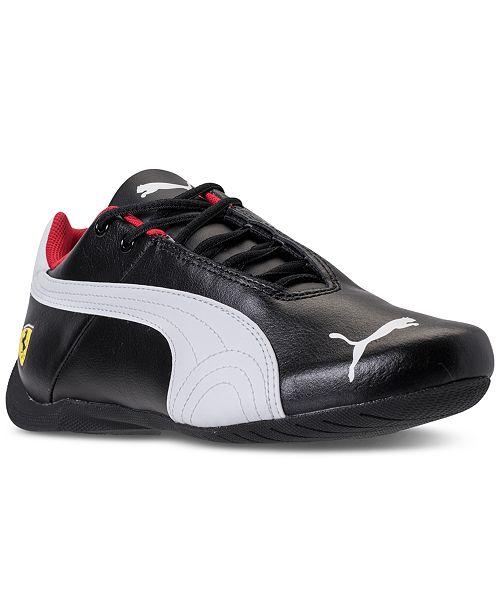 Puma Big Boys' Future Cat SF Ferrari Casual Sneakers from