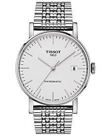 Men's Swiss Automatic Everytime Swissmatic Stainless Steel Bracelet Watch 40mm