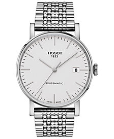 Tissot Men's Swiss Automatic Everytime Swissmatic Stainless Steel Bracelet Watch 40mm