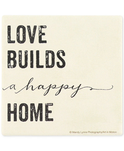 Thirstystone Love Builds A Happy Home Coaster