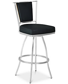 "Delhi 26"" Swivel Counter Stool, Quick Ship"