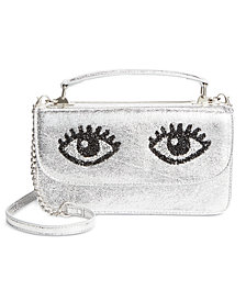 Betsey Johnson Eyes Crossbody Bag
