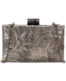 Patricia Nash Glitter Metallic Alora Frame Clutch