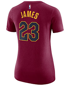 Nike Women's LeBron James Cleveland Cavaliers Name & Number Player T-Shirt