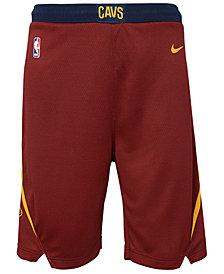 Nike Cleveland Cavaliers Icon Swingman Shorts, Big Boys (8-20)