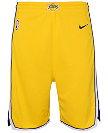 Nike Los Angeles Lakers Icon Swingman Shorts, Big Boys (8-20)