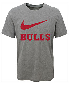 Nike Chicago Bulls Swoosh Team T-Shirt, Big Boys (8-20)