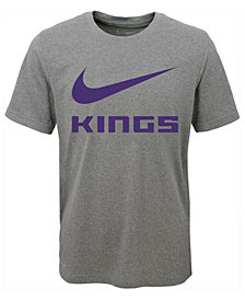 Nike Sacramento Kings Swoosh Team T-Shirt, Big Boys (8-20)