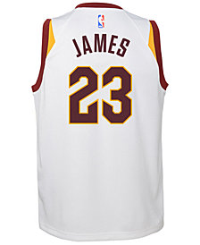 Nike Lebron James Cleveland Cavaliers Association Swingman Jersey, Big Boys (8-20)