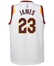 Nike Lebron James Cleveland Cavaliers Association Swingman Jersey, Big Boys (8-20)
