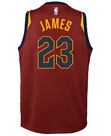 Nike Lebron James Cleveland Cavaliers Icon Swingman Jersey, Big Boys (8-20)