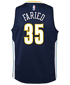 Nike Kenneth Faried Denver Nuggets Icon Swingman Jersey, Big Boys (8-20)