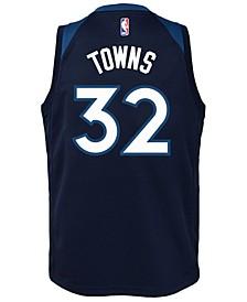 Karl-Anthony Towns Minnesota Timberwolves Icon Swingman Jersey, Big Boys (8-20)
