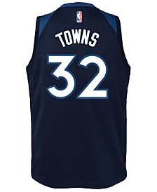 Nike Karl-Anthony Towns Minnesota Timberwolves Icon Swingman Jersey, Big Boys (8-20)
