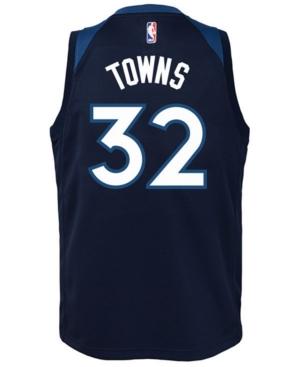 Nike Karl-Anthony Towns Minnesota Timberwolves Icon Swingman Jersey, Big Boys (8-20)