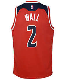 Nike John Wall Washington Wizards Icon Swingman Jersey, Big Boys (8-20)