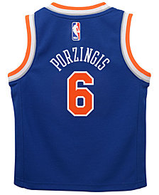 Nike Kristaps Porzingis New York Knicks Icon Replica Jersey, Toddler Boys