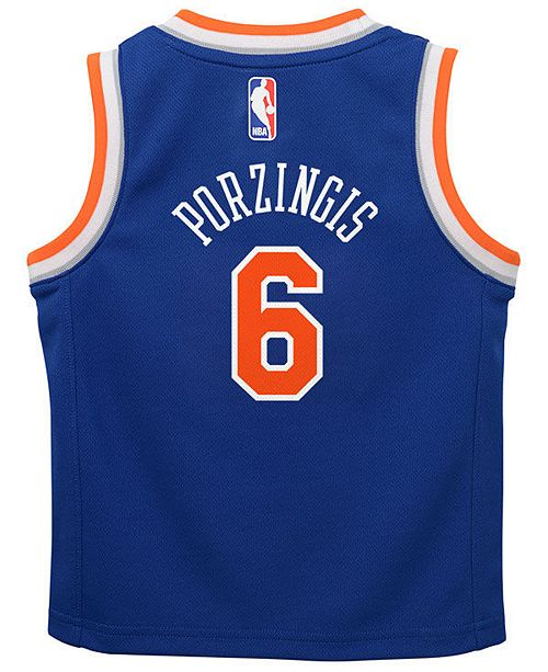 ... Nike Kristaps Porzingis New York Knicks Icon Replica Jersey 98496c38a