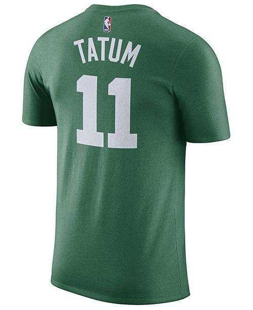 2c2b44d53 ... Nike Men s Jayson Tatum Boston Celtics Name   Number Player T-Shirt ...
