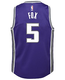 Nike De'Aaron Fox Sacramento Kings Icon Swingman Jersey, Big Boys (8-20)