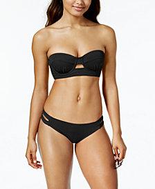 SUNDAZED Abbi Bra-Sized Underwire Bikini Top & Sasha Strappy Bottoms