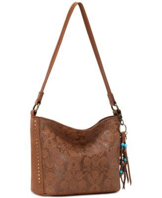 The Sak Indio Leather Demi Bucket Bag, A Macy\u0027s Exclusive Style