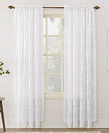 "Lichtenberg No. 918 Alison Floral Lace 58"" x 63"" Rod-Pocket Window Panel"