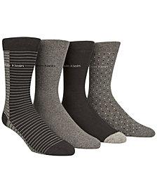 Calvin Klein Men's 4-Pk. Colorblocked Socks