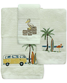 Bacova Shorething Cotton Embroidered Bath Towel