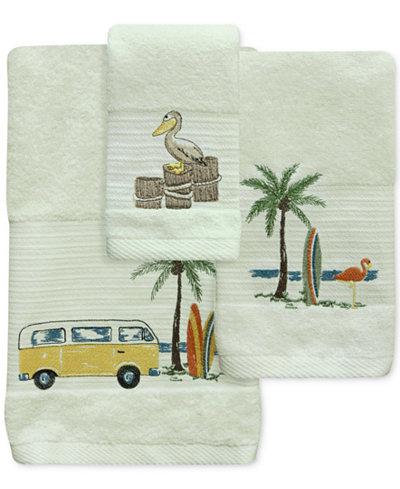 Bacova Shorething Cotton Embroidered Bath Towel