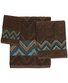 Sierra Cotton Zig-Zag Bath Towel