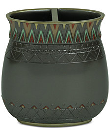 Bacova Sierra Zig-Zag Toothbrush Holder
