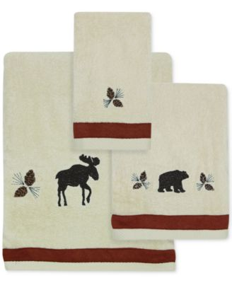 North Ridge Cotton Embroidered Bath Towel