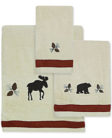 Bacova North Ridge Cotton Embroidered Bath Towel