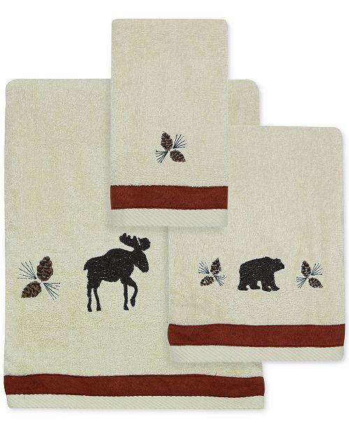 Bacova North Ridge Cotton Embroidered Bath Towel