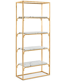 Desmon 4-Tier Etagere, Quick Ship