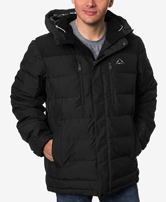 HFX Men's Colorblocked Hooded Ski Jacket - Coats & Jackets - Men ...