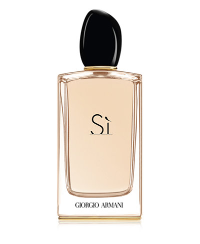 giorgio armani si eau de parfum spray 5 1 oz fragrance. Black Bedroom Furniture Sets. Home Design Ideas