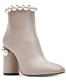 Katy Perry Opearl Block-Heel Booties