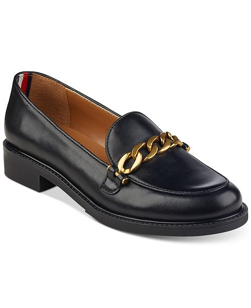 6813b006d18 Tommy Hilfiger Women s Bosse Loafers   Reviews - Flats - Shoes ...