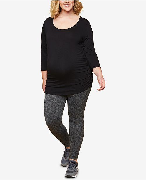3f292129e57759 Motherhood Maternity Plus Size Leggings & Reviews - Maternity ...
