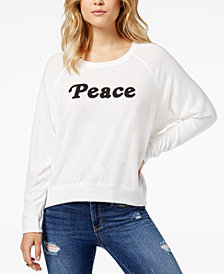 Project Social T Peace Graphic Sweatshirt