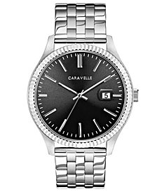Caravelle Men's Stainless Steel Bracelet Watch 41mm